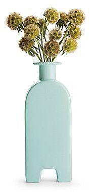Michael Graves Design Celadon Footed Vase Michael Graves