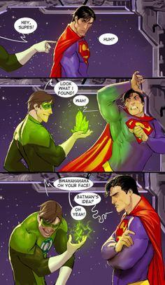 Humor super heroes