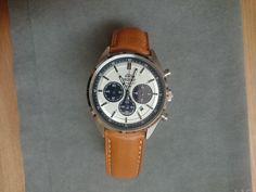 "Orient ""Neo 70s"" Panda Dial Solar Chronograph (WV0041TX)"