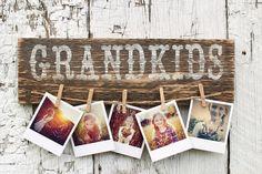 Grandkids Sign Rustic Grandkids Sign Wood by DownInTheBoondocks