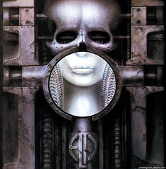 """Brain Salad Surgery"", by ELP: 'Emerson Lake and Palmer', (1973), LP Cover Art by E.R. Giger"