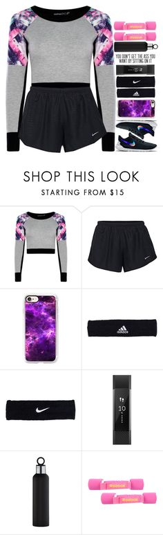 """""""4919"""" by tiffanyelinor ❤ liked on Polyvore featuring NIKE, Casetify, adidas, Fitbit, blomus and Reebok"""