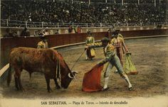 San Sebastián : plaza de toros : intento de descabello, 19--?