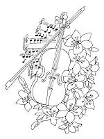 Musical-instruments Coloring Pages --> For the top-rated adult coloring books and writing utensils including colored pencils, gel pens, watercolors and drawing markers, go to our website at http://ColoringToolkit.com. Color... Relax... Chill.