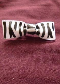 Kupuj mé předměty na #vinted http://www.vinted.cz/doplnky/vlasove-doplnky/9549206-maslicka-do-vlasu-zebrovanana-ze-stuhy-diy