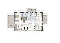 Helmeri | 1-kerroksiset talot | Herrala Floor Plans, Decoration, Home Decor, Decor, Decoration Home, Room Decor, Decorations, Decorating, Home Interior Design