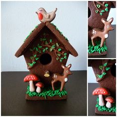 Cookie house made by UltimoCakes (my sister) http://www.facebook.com/ultimocakes