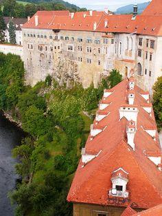 At the castle - Cesky Krumlov, Czech Republic