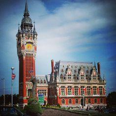 Cityhall of Calais France