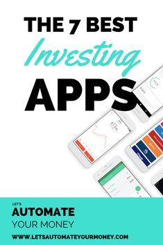 The 7 Best Investing Apps - Want to start investing but dont know where to start when there are so many great tools out there? Its confusing and overwhelming but Im going to show you the best tools you can start investing with today! Best Investment Apps, Investment Companies, Investment Property, Investment Group, Investment Quotes, Investing Apps, Stock Market Investing, Where To Invest, Money Book
