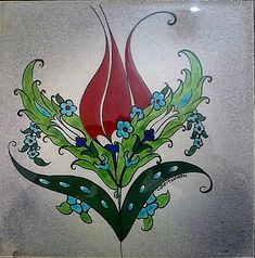 ÇİNİ [Tile]; Atalarımızın bize ilginç miraslarından biri... Turkish Design, Turkish Art, Turkish Tiles, Islamic Art Pattern, Pattern Art, Print Patterns, Oriental Trends, Turkish Pattern, Embroidery Motifs