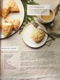 Magnolia Journal's Orange Zest Scones