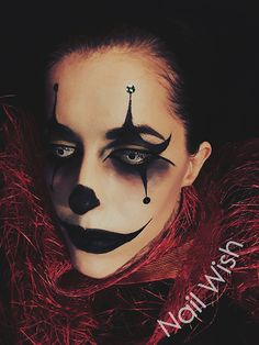 Nail Wish: Halloween Clown