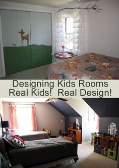 Designing Kids Rooms, For a Star Wars Loving Boy!  And a Nature loving Girl!