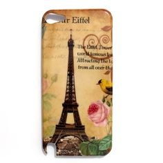Paris Eiffel Tower Hard Case Cover Skin for Apple iPod Touch 5 Gen 5th Generation 5G