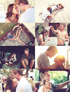 Currently obsessed with The Last Song, the movie and book by Nicholas Sparks, for this summer.  Liam Hemsworth is droooooling hot, and I actually find Miley Cyrus to fit her role in this movie perfectly.