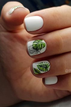 art Nails Art Design New Free Idea Current Trends According To Seasons İn Manicure 2019 - Page 27 of 35 - eeasyknitting. com nails art; Pedicure Nail Art, Gel Nails, Nail Polish, White Nail Designs, Nail Designs Spring, Nail Art Designs, White Nail Art, White Nails, Nail Art Hacks