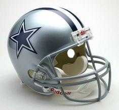 Dallas Cowboys Helmet Riddell Replica Full Size VSR4 Style