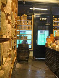 Borough Market Cheese Shop, via Flickr.MsFiggis