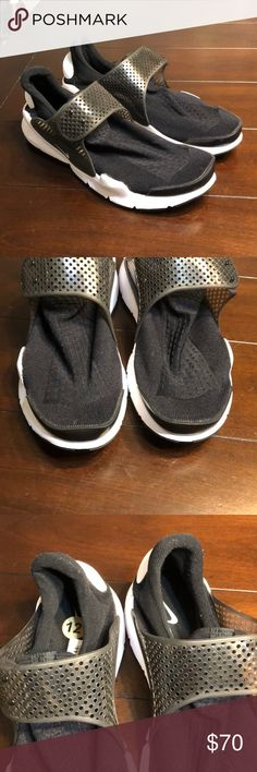 940f519294d1 Nike Sock Dart KJCRD Slip-On Sz 12 819686-005 NEW Nike Sock Dart
