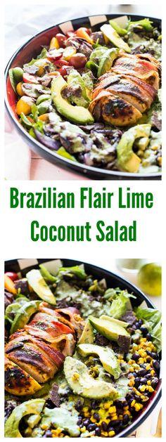 BRAZILIAN FLAIR COCONUT LIME SALAD