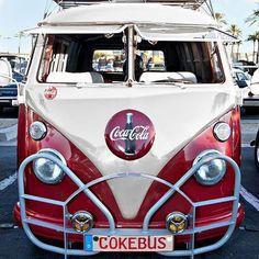 Classic Car News Volkswagen Transporter, Volkswagen Bus, Vw T1, Vw Camper, Coca Cola Ad, Always Coca Cola, World Of Coca Cola, Land Cruiser, Food Truck