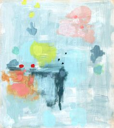 Belinda Marshall's paintings are so, so gorgeous #art #painting #color
