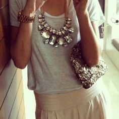 Statement Piece #fashion #jewelry