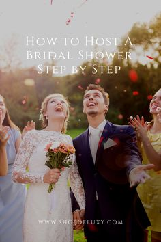 Hosting a bridal shower is more than having the ladies show up and party. But if you're here already, we have a feeling you already know that. here's how to host a bridal shower step by step, prepared by Deluxy #deluxy #bridalshower #bridal #bride #hosting