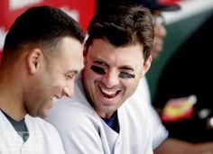 Derek Jeter (#2) and Tino Martinez (#24) (photo credit: Robert B. Stanton)