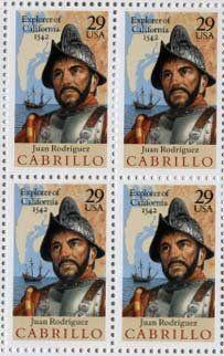 Juan Rodriguez Cabrillo California 4 x 29 cent US Postage Stamp Scot #2704 . $5.69. Juan Rodriguez Cabrillo California 4 x 29 cent US Postage Stamp Scot #2704