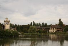 Marie Antoinette's Hamlet. Queen Marie Antoinette had her own, smaller palace, the Petit Trianon. The Hameau (Hamlet) was a village the King created for her. http://www.francetraveltips.com/marie-antoinettes-petit-trianon-hamlet/