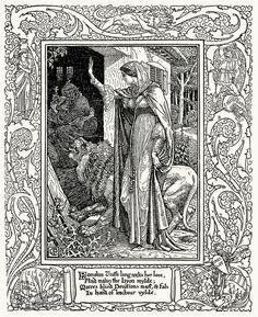 Spenser's Faerie Queene - Walter Crane 16