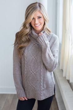 ... wholesale price 02fb9 c054b Shop our Long Sleeve Turtleneck Sweater.  Mocha long sleeve turtleneck sweater ... c1e687445