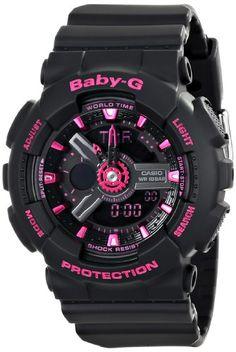 Casio Women's BA-111-1ACR Baby-G Analog-Digital Display Quartz Black Watch Casio http://www.amazon.com/dp/B00J6AH1PM/ref=cm_sw_r_pi_dp_UWU2tb0X320WX5GD