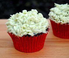 Asopaipas. Recetas de Cocina Casera .: Cupcakes de Chocolate y Frostíng de Menta (Mint Chocolate Cupcake)