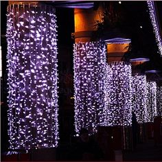 Purple LED Christmas Lights On Pinterest