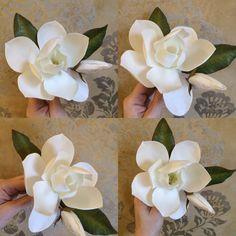 My flowers, handmade, foam, eva, magnolia