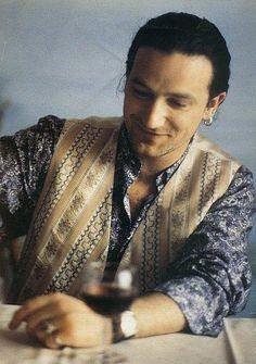 Bono; love this picture! ; )