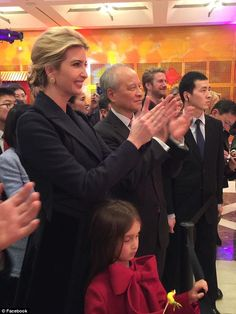 Ivanka Trump surprises guests at the Chinese Embassy at new Year event #dailymail