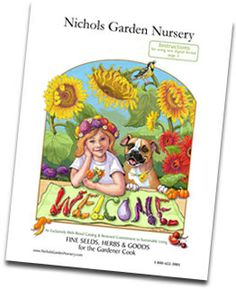Nichols Garden Nursery - Fine Seeds & Herbs for the Gardener Cook - another great source for quality seeds
