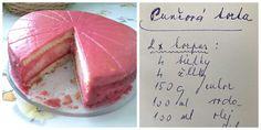 Úžasný recept na punčovú tortu, ktorú jednoducho musíte skúsiť. Je fantasticky šťavnatá a pritom jednoduchá na prípravu. Autorkou receptu je pani Jana Sokolová Uličná. Deserts, Pudding, Punk, Cooking, Food, Cakes, Kitchen, Cake Makers, Custard Pudding