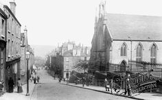 Photo of Greenock, South Parish Church and Ann Street 1904 - Francis Frith Old Pictures, Old Photos, Glasgow Architecture, Local History, My Heritage, Vintage Postcards, Scotland, Ann, Old Things