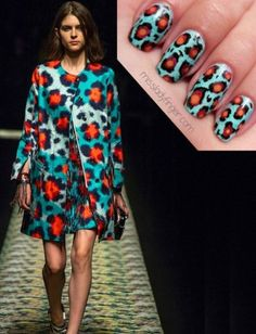 Get Inspired: Eight Pretty Spring Nail Art Ideas : Lucky Magazine