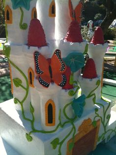 Castle, Peter Pan Mini Golf, Austin TX...sculptor: Cheryl D Latimer