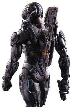 Pre-order Square Enix Play Arts Kai 1:7 Scale Halo 5: Guardians: Spartan Locke Action Figure