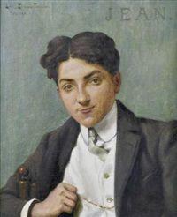 Louis Edouard Paul Fournier, Portrait de jeune homme, 1905