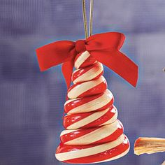Christmas Tree shaped Candy Cane Ornament