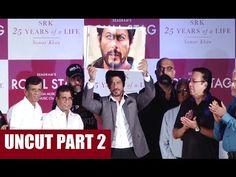 Shahrukh Khan at Samar Khan's book launch SRK 25 YEARS OF A LIFE | PART 2
