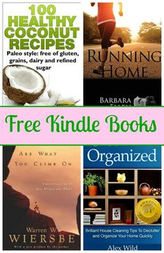 Free Kindle Book List: Running Home, Organized, 100 Healthy Coconut Recipes, and More